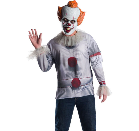 Rubie's Pennywise IT Adult Men's Halloween Costume Licensed Scary Clown STD