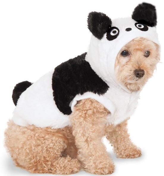 Adorable Panda Teddy Bear Dog Costume Hoodie Animal Cat Pet XS SM MD LG XL XXL