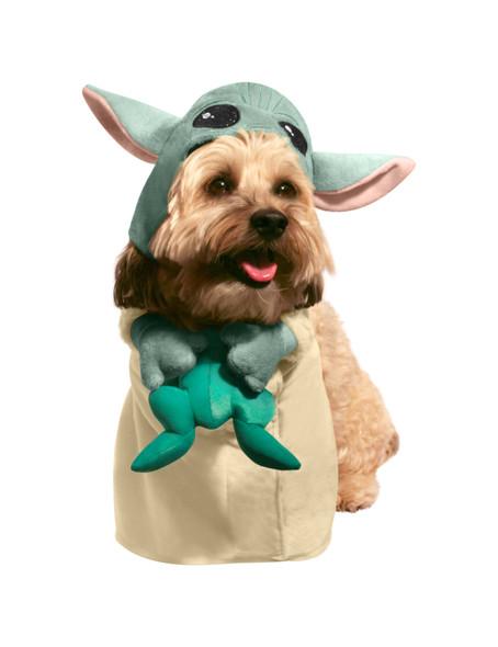 Star Wars Mandalorian The Child Baby Yoda Pet Dog Costume Dress Up X-LARGE