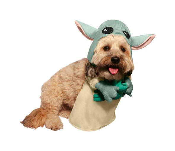Star Wars Mandalorian The Child Baby Yoda Pet Dog Costume Dress Up LARGE