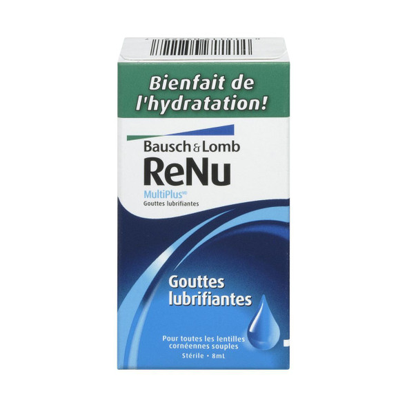 Bausch & Lomb Renu Fresh Multiplus Lubricating Drops Contact Lenses Solution 8ml
