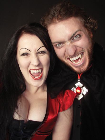 Scarecrow Classic Deluxe Vampire Custom Fangs Adult Halloween Costume Accessory
