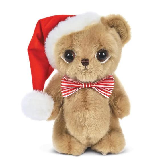 The Bearington Collection Big Head Nick The Santa Bear Stuffed Animal Plush