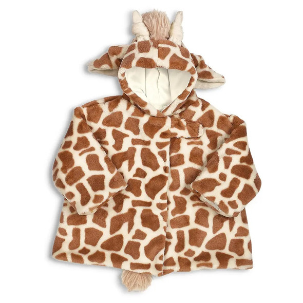 The Bearington Collection Patches The Giraffe Plush Coat 6-12 Months Baby