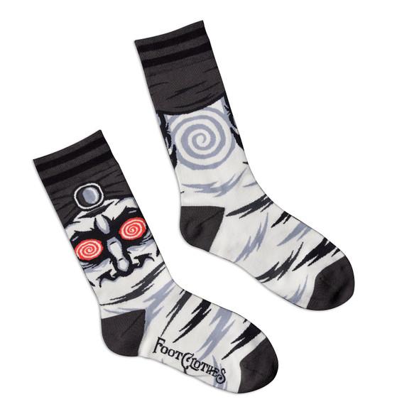 Foot Clothes 1950's Retro Hypnotist Crew Socks Adult Size 5-13