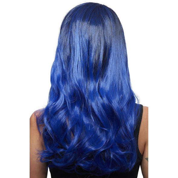 Smiffys Manic Panic Queen Bitch After Midnight Ombre Long Wavy Wig Heat Style