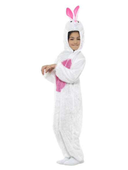 Party Animals White Easter Bunny Rabbit Halloween Costume Child Boys Girls Small