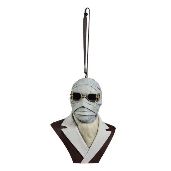 Trick or Treat Holiday Horrors The Invisible Man Christmas Tree Ornament