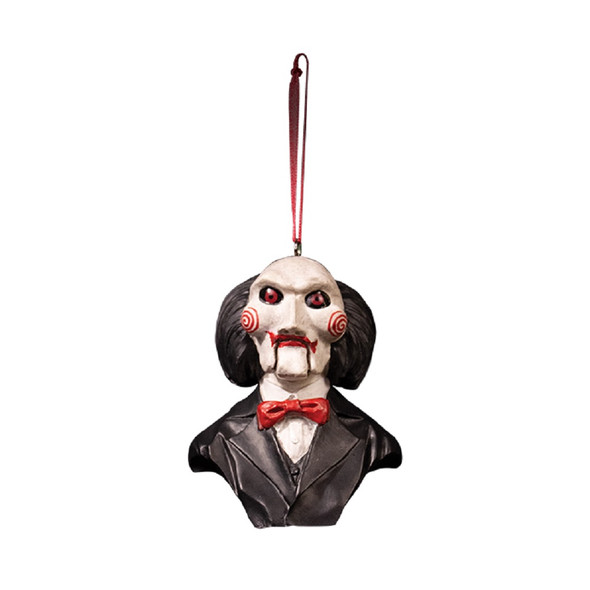 Trick or Treat Holiday Horrors Saw Billy Puppet Christmas Tree Ornament
