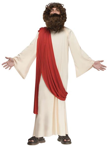 Deluxe Biblical Jesus Costume Robe Child Boys Religious Christmas Halloween