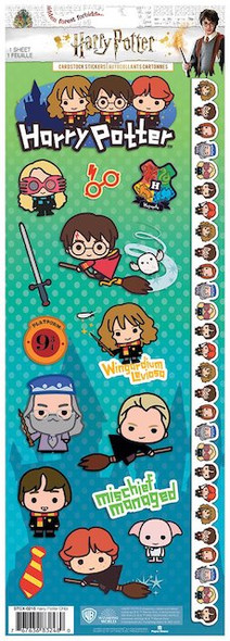 Harry Potter Chibi Collectible Stickers