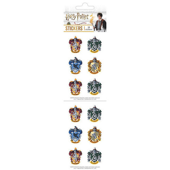 Harry Potter Hogwarts Crests Collectible Stickers