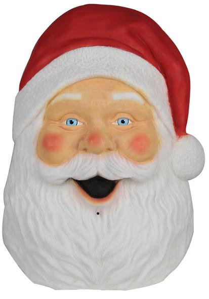 Santa Claus Hanging Plaque With Lights & Sounds Christmas Decoration Prop