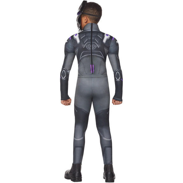 Fortnite Purple Omega Youth Skin Child Costume Boys Jumpsuit Gamer Outfit MEDIUM