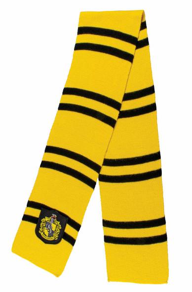 "Harry Potter Movie Hufflepuff 60"" Knit Scarf Wizarding World Costume Accessory"