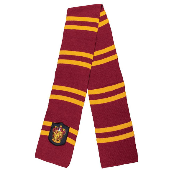 """Harry Potter Movie Gryffindor 60"""" Knit Scarf Wizarding World Costume Accessory"""