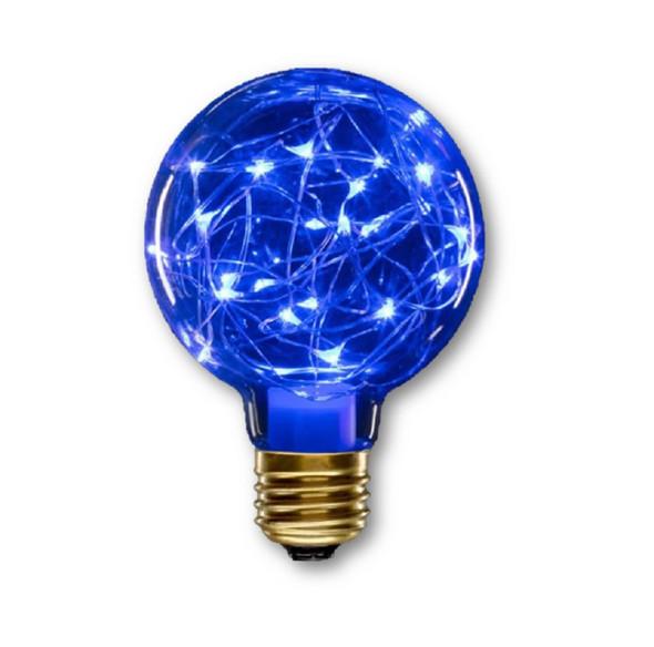 Holiday LED Fairy Light Bulb Halloween Purple Home Decor