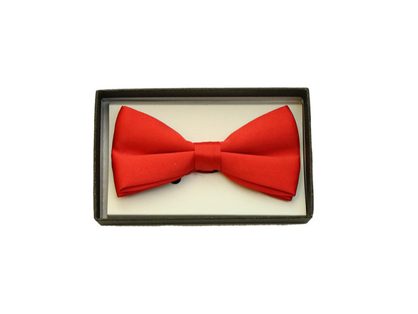 Red Satin Bow Tie Adult Adjustable Tuxedo Costume Accessory