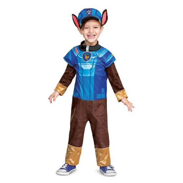 Paw Patrol The Movie Mighty Pups Chase Toddler Child Character Costume 4-6