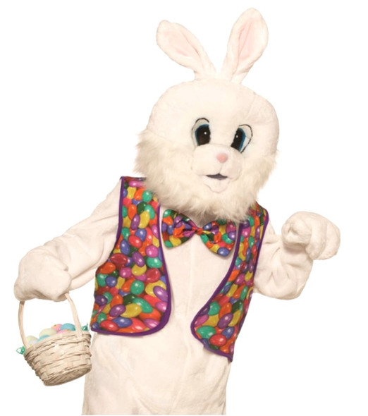 Easter Bunny Kit Animal Adult Jelly Beans Vest Bow Tie Costume Accessory Set