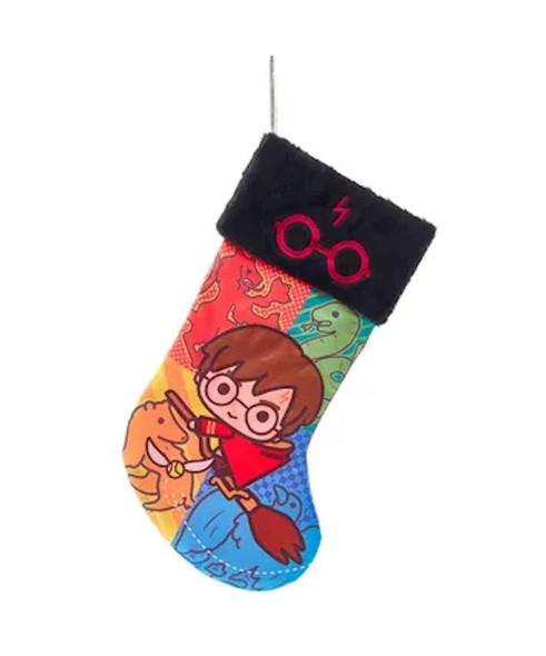 Harry Potter Chibi Satin Holiday Christmas Stocking