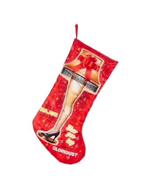 A Christmas Story Leg Lamp Light Up Holiday Christmas Stocking