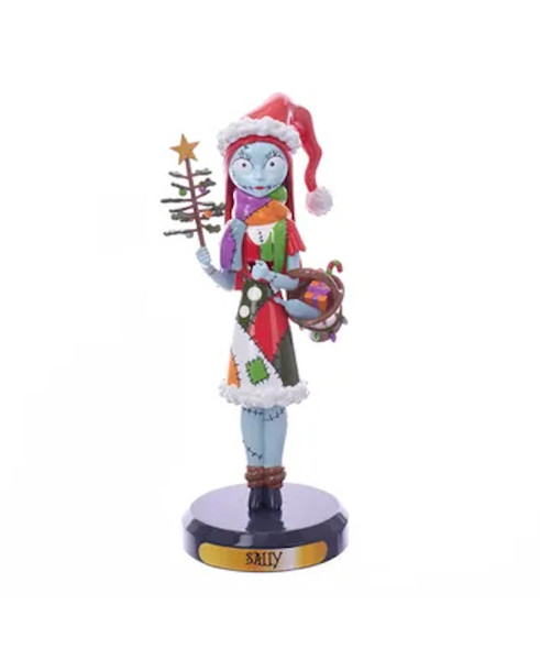 "10"" Disney The Nightmare Before Christmas Sally Nutcracker"