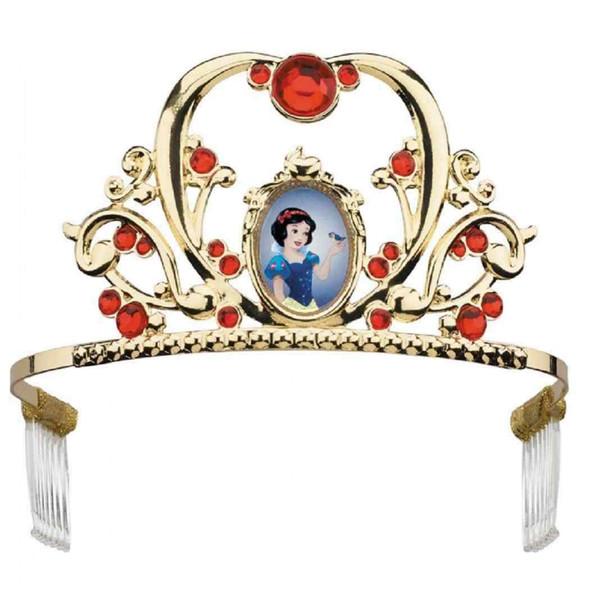 Deluxe Disney Snow White Princess Tiara Girls Classic Costume Accessory