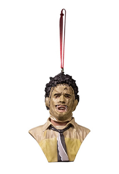Trick or Treat Holiday Horrors Texas Chainsaw Massacre Leatherface Tree Ornament