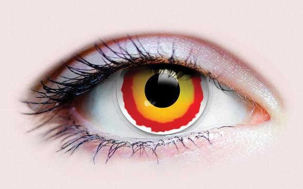 Primal Costume Contact Lenses Slith Join The Dark Side Cosplay Make-up Anime