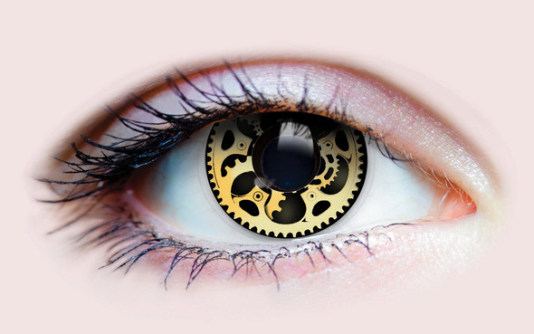 Primal Costume Contact Lenses Industrial Steampunk Cosplay Eye Make-up Anime