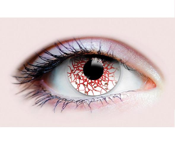 Primal Costume Contact Lenses Costume Berserker Bloodshot Cosplay Make-up Anime