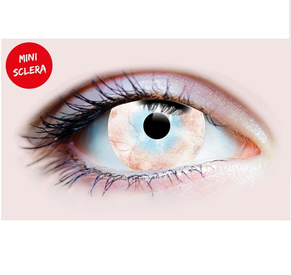 Primal Costume Contact Lenses Costume Plague Bloodshot Cosplay Make-up Anime