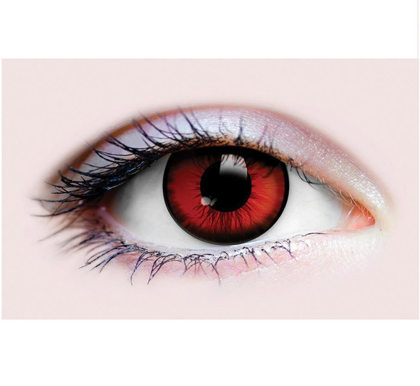 Primal Costume Contact Lenses Costume Red Dracula I Cosplay Make-up Anime Stoned