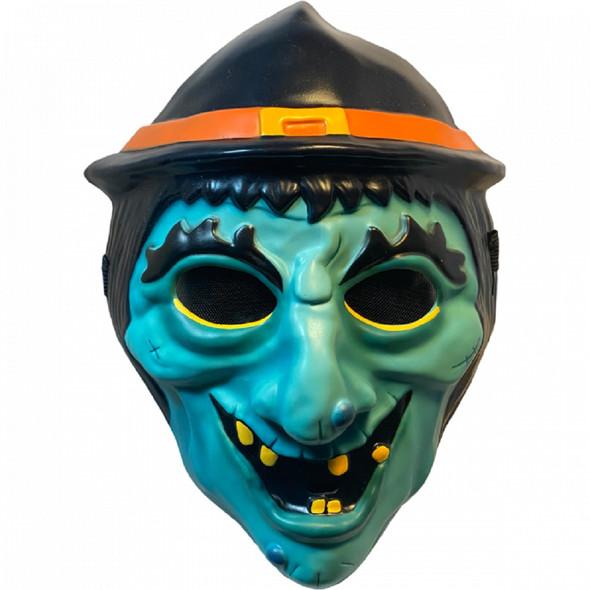 Trick or Treat Studios Eil Roth's Haunt Witch Halloween Plastic Half Mask