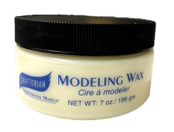 Graftobian Modeling Wax Bone White Professional Makeup Special Effect 7 oz