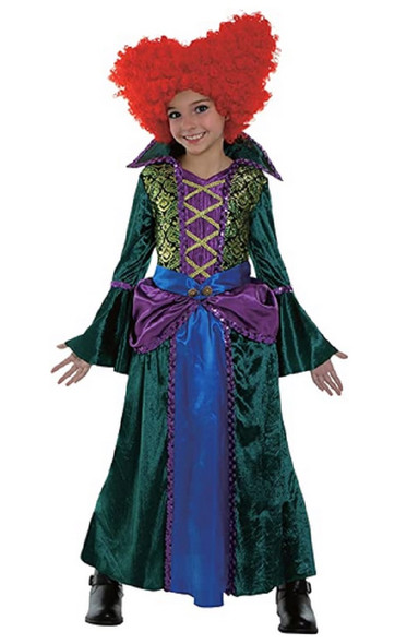 Salem Witch Boss Hocus Pocus Inspired Winifred Child Halloween Costume MD 8-10