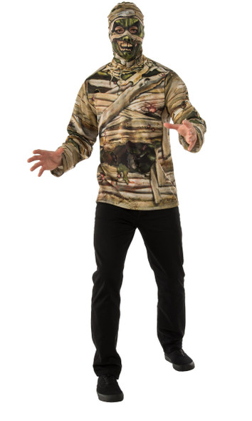 Rubie's Opus Collection Undead Costume Shirt Zombie Mummy Mens Adult Std-XL