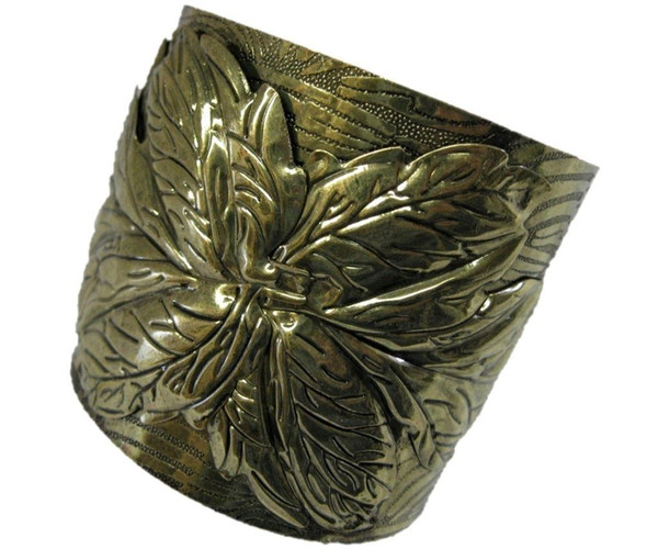 Cleopatra Bracelet Cuff Grecian Adult Gold Costume Accessory Greek Laurel Leaf