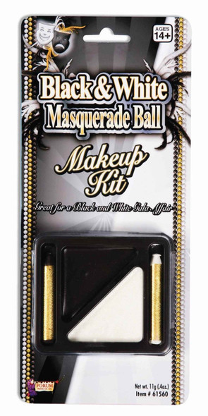 Black and White Makeup Cream Sticks Water Washable Halloween Masquerade Prop New