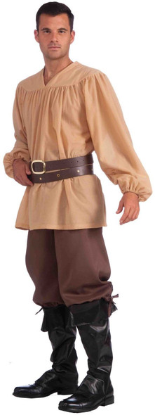 Adult Men Brown Knickers Medieval Costume Accessory Short Pants Newsboy Standard