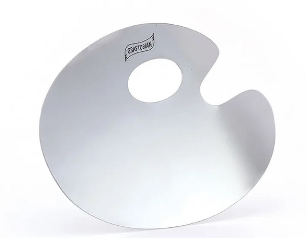 Graftobian Pro Mixing Palette Stainless Steel Professional Make-Up Supply