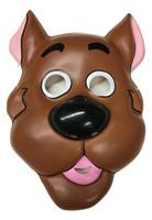 Scooby Doo PVC Plastic Half Mask Child Costume Accessory Licensed Great Dane Dog
