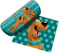 Spoontiques Scooby Doo Eyeglass Case & Cleaning Cloth Hard Case For Glasses