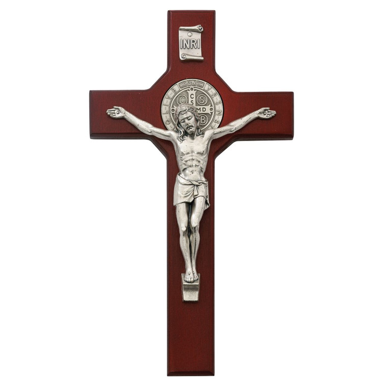 10.5 in. St. Benedict Crucifix - Gift Boxed