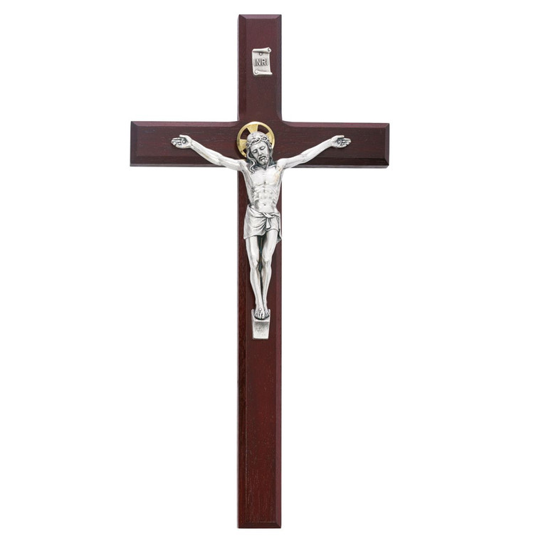 12 in. Cherry Crucifix - Gift Boxed