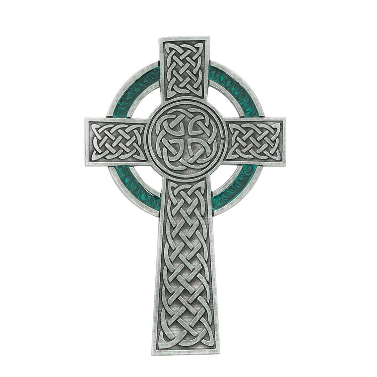 5 1/2in Pewter Celtic Cross - Gift Boxed