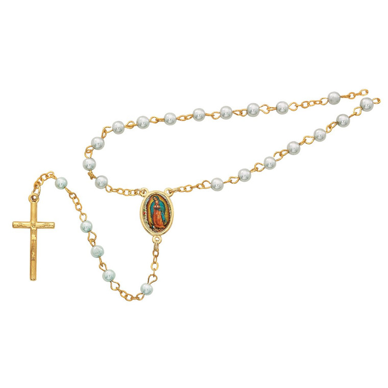 Guadalupe Box and Blue Rosary