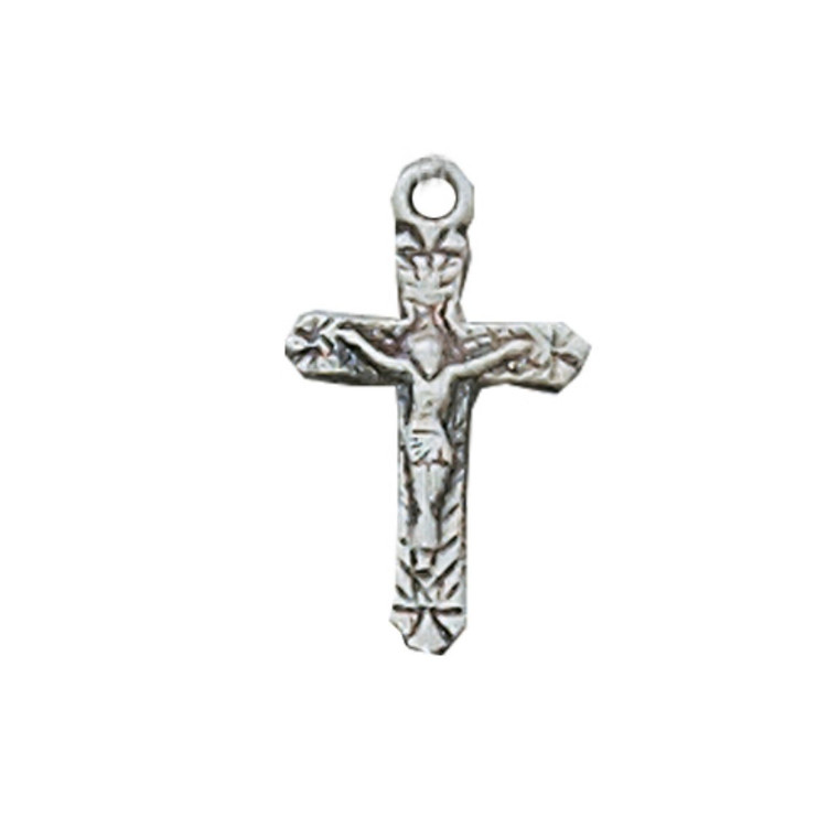 Sterling Crucifix on Baby Chain 1 - Gift Boxed