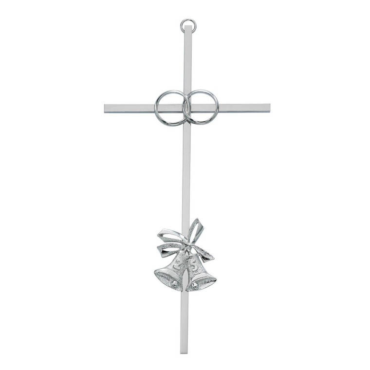 8in 25th Anniversary Aluminum Cross - Gift Boxed